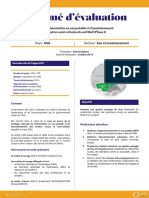 resume-evaluation-projet-alimentation-eau-potable-assainissement-centres-semi-urbains-sud-mali-phase-1-CML1199