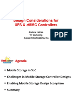 Design Considerations for UFS & eMMC Controllers