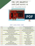 BIOS Post Codes