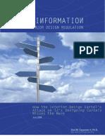 Misinformation and Interior Design Regulation