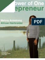 The Power of One Entrepreneur