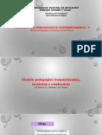 4 MODELOS PSICOPEDAGOGICOS CONTEMPORANEOS Modelo pedagógico tecnicista y personalizada