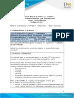 Guia de actividades y Rúbrica de evaluación - Unidad 2 -Tarea 3 - Aplicación (2) CASO CLINICO