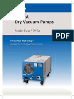EBARA Dry Vacuum Pumps