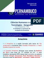 A conquista e o processo de ocupação da Amazônia