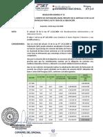 RG N° 53-2020 actualiza monto para auditoria externa obligatoria Art 33_22 05 2020