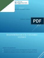Clase de diagnóstico bucal y examen clínico[3]