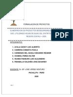 FORMULACION DE PROYECTO - HOJA DE BIJAO FINAL