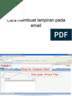 Cara membuat lampiran pada email