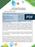 Syllabus del curso Sociología ambiental