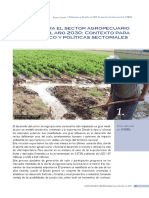 Desafios para el sector agropecuario