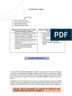 MODELO DE GESTION DE LIDERAZGO Y DE CAMBIO ORGANIZACIONAL