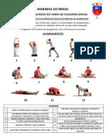 Cartilha de exercícios no período de quarentena