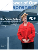 The Power of One Entrepreneur Kim Powers Bridges, Funeral Home & Cemetery Owner
