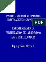 9- Experiencias en la fertilizacion de arroz (Alcivar S).pdf
