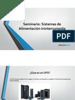 Seminario - Sistemas de Alimentacion ininterrumpida (UPS).pdf