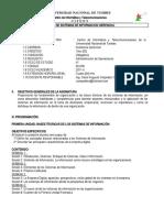 Silabo AsisGer 2011 2 Sistemas de Informacion Gerencial