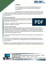 Caracteristicas módulo de Inventarios y requerimientos para la instalación
