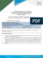 Guía de actividades y rúbrica de evaluación - Unidad 3 - Tarea 3 - Descripción de componentes de un PACS