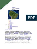 Región de la Amazonia