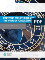 Portfolio Structuring and the Value of Forecasting - Lussier.pdf