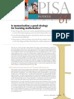 OECD Memorization