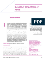 Um mosaico da gestão de competências em empresas brasileiras