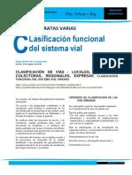 5 Clasificación de Vías, Clase UNH.