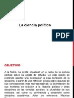 La ciencia política (1) diapositivas