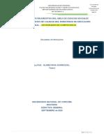 Act. 1 - Componentes PDE de los estándares de C. Sociales