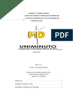 INFORME EJECUTIVO PARTE 5  PROGRAMAS DE PRECIOS, DEFINICIÓN DE CANALES DE MARKETING