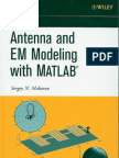 Antenna and EM modeling with MATLAB (Makarov S.N. - 2002 - Wiley)