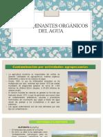CONTAMINANTES ORGÁNICOS DEL AGUA (3)