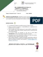 GUÍA DE COMPRENSIÓN LECTORA N°6feño