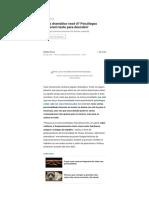 Quão dramático você é_ Psicólogos elaboram teste para descobrir - Revista Galileu _ Ciência