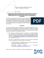 AVISO CONVOCATORIA AUXILIARES DE LA JUSTICIA BOGOTA-CUNDINAMAR