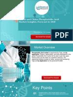 Global and China Phosphatidic Acid Market Insights, Forecast to 2026