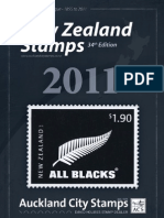 ACS New Zealand Stamps Catalogue 2011