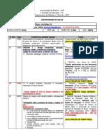 CRONOGRAMA DE AULAS DIDÁTICA PROF. THIAGO TERÇA TURMA G - NOTURNO 1.2020