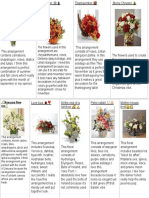 floral subscription vision board