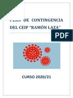 Plan Contingencia Ceip Ramón Laza