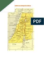 Carte de la Palestine au temps de Jésus