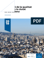 Informe Qualitat Aire 2019