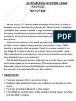 DOOR  AUTOMATION SYSTEM USING ANDROID