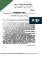 Exame Alemão 1999