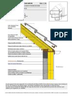 mur de facade et toiture inclinee - Febelcem