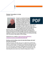 Design Innovation in India
