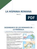 Tema 15. LA HISPANIA ROMANA_Sociales_1º ESO