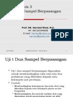 Statistika Farmasi 5 Uji t Dua Sampel Berpasangan.pptx
