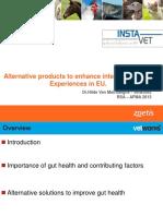 Alternative products to enhance intestinal health